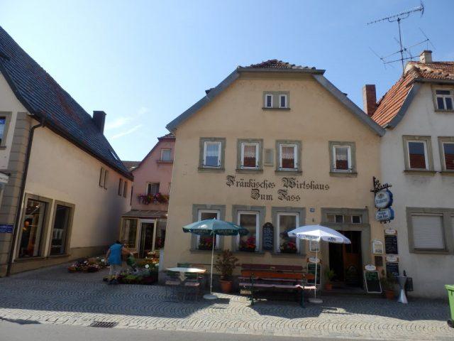 Zum Faß Gasthaus Restaurant in Haßfurt